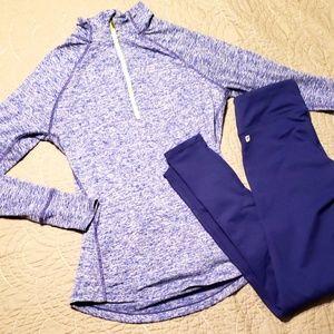 Tops - Blue/Purple Running Jacket!